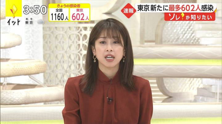 2020年12月10日加藤綾子の画像02枚目