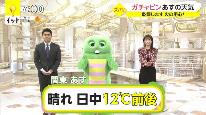 2020年12月21日加藤綾子の画像17枚目