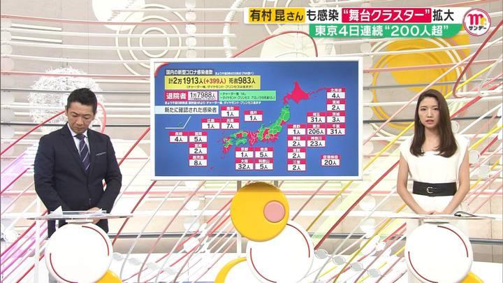 2020年07月12日三田友梨佳の画像03枚目