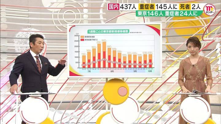 2020年10月11日三田友梨佳の画像16枚目