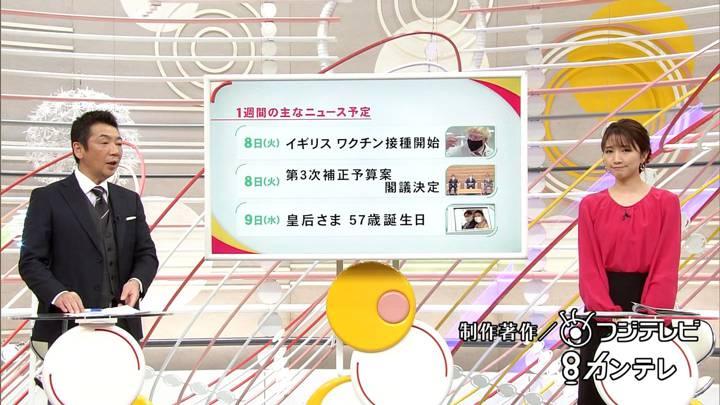 2020年12月06日三田友梨佳の画像35枚目