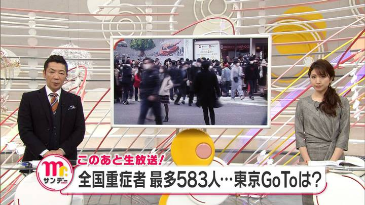 2020年12月13日三田友梨佳の画像02枚目