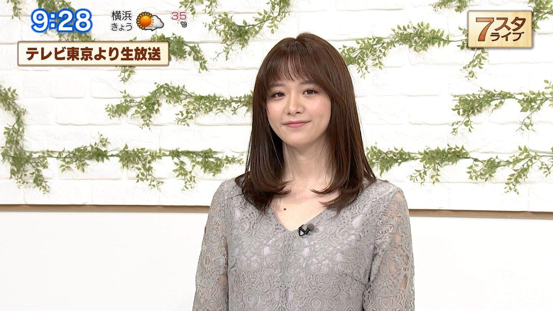 東京 テレビ 森 香澄