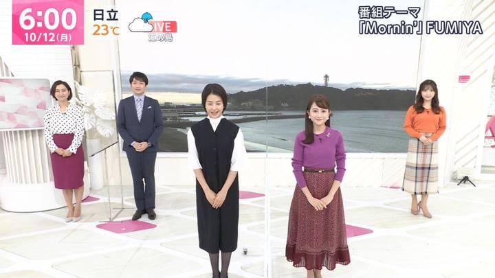 2020年10月12日野村彩也子の画像01枚目
