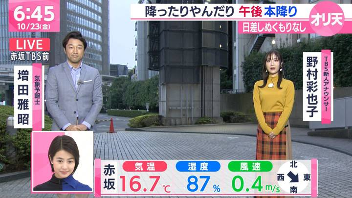 2020年10月23日野村彩也子の画像06枚目