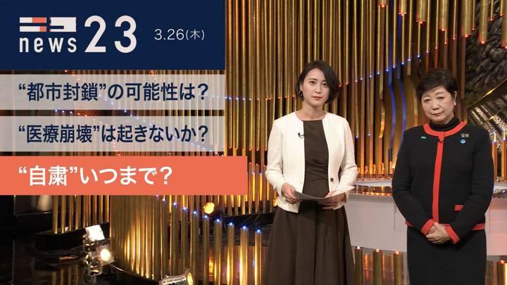 2020年03月26日小川彩佳の画像02枚目