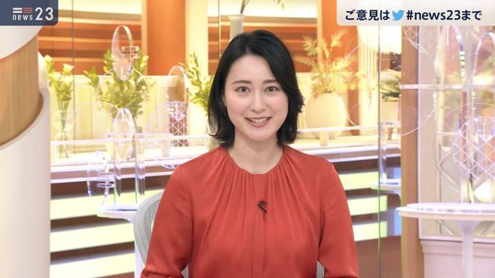 2020年10月20日小川彩佳の画像10枚目