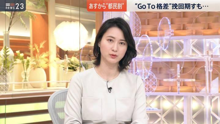 2020年10月22日小川彩佳の画像04枚目