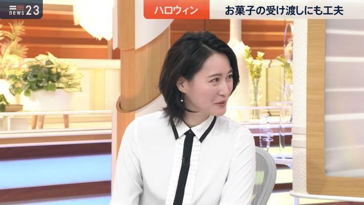2020年10月23日小川彩佳の画像04枚目