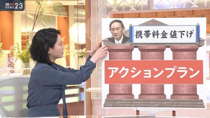 2020年10月27日小川彩佳の画像02枚目
