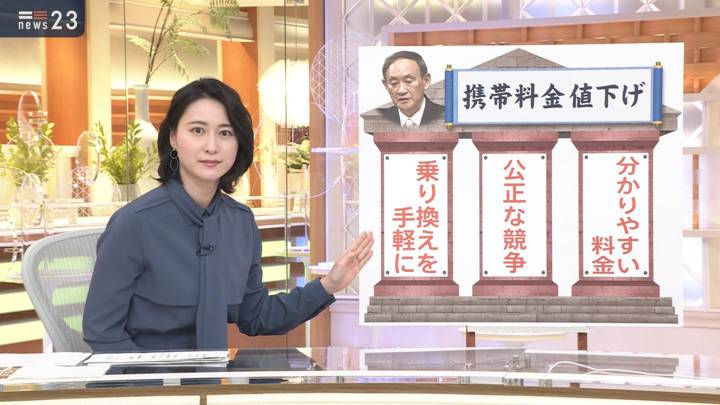 2020年10月27日小川彩佳の画像03枚目