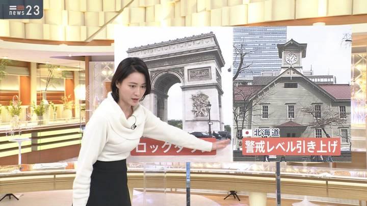 2020年10月29日小川彩佳の画像03枚目