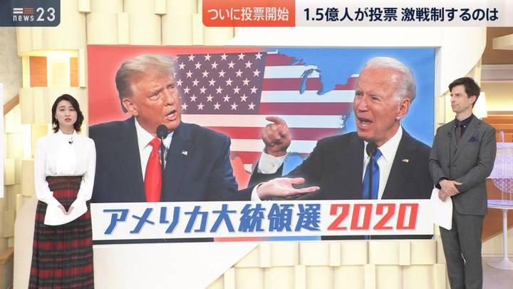 2020年11月03日小川彩佳の画像02枚目