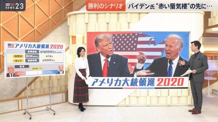 2020年11月03日小川彩佳の画像04枚目