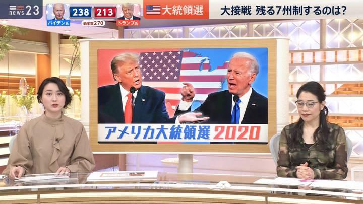 2020年11月04日小川彩佳の画像05枚目