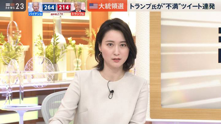 2020年11月05日小川彩佳の画像04枚目