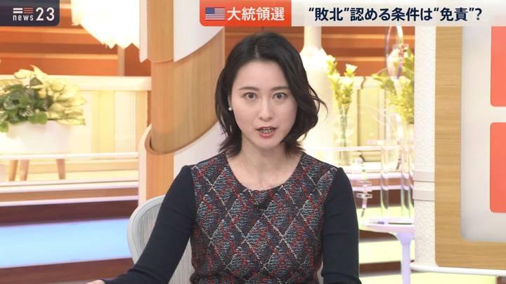 2020年11月09日小川彩佳の画像04枚目