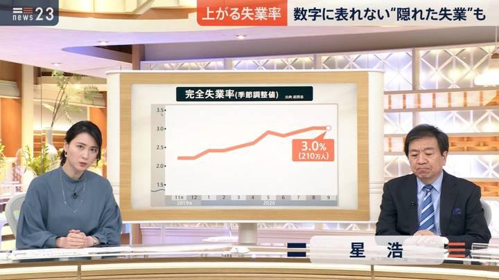 2020年11月16日小川彩佳の画像03枚目