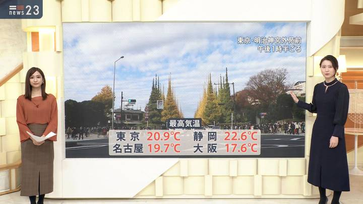 2020年11月23日小川彩佳の画像15枚目