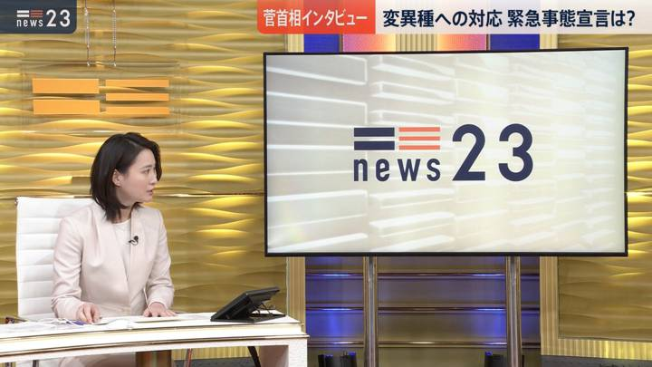 2020年12月21日小川彩佳の画像04枚目