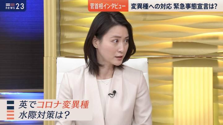 2020年12月21日小川彩佳の画像05枚目