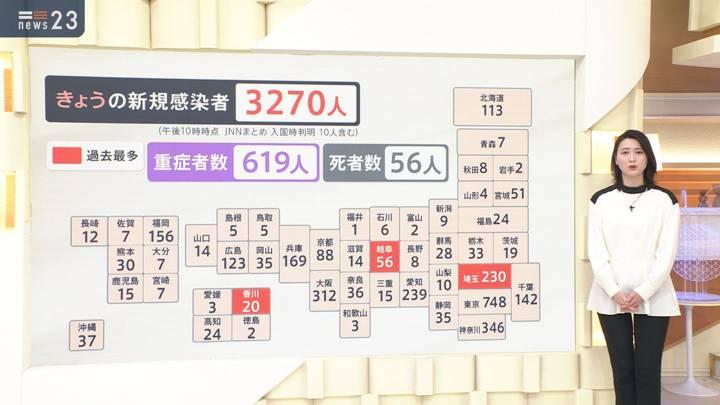 2020年12月23日小川彩佳の画像03枚目