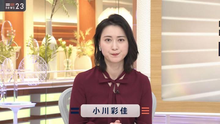 2020年12月24日小川彩佳の画像02枚目