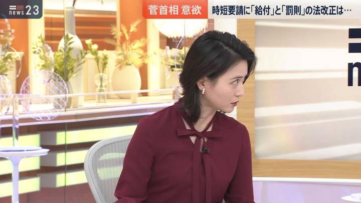 2020年12月24日小川彩佳の画像06枚目