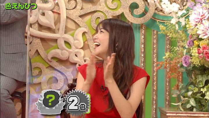 2020年10月22日鷲見玲奈の画像13枚目
