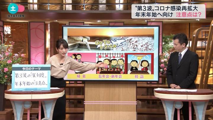 2020年11月14日高島彩の画像11枚目