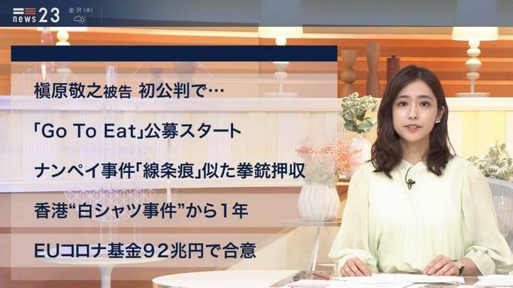 2020年07月21日田村真子の画像11枚目
