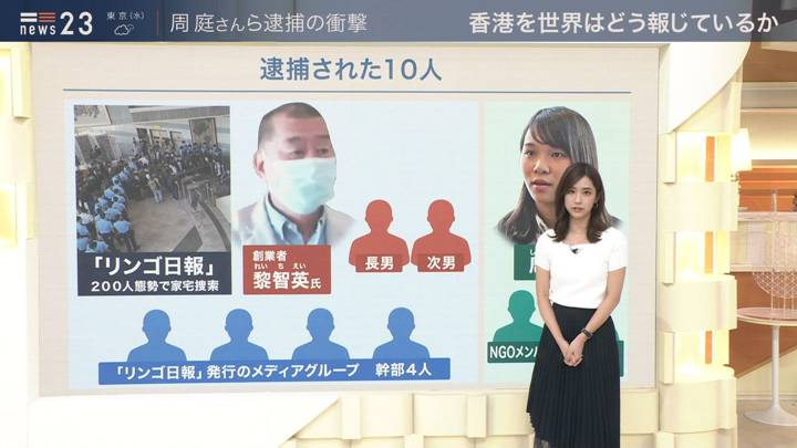 2020年08月11日田村真子の画像04枚目