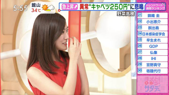 2020年08月22日田村真子の画像10枚目