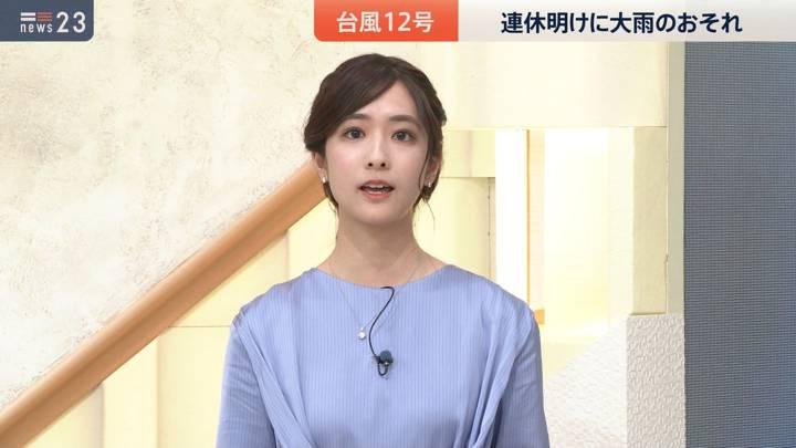 2020年09月21日田村真子の画像10枚目