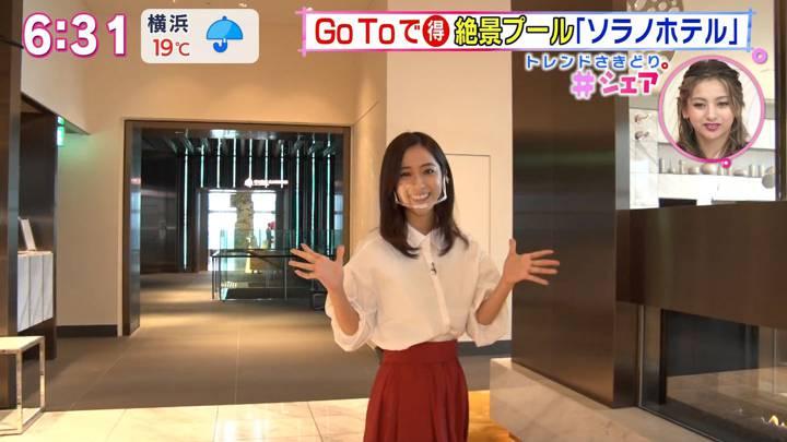 2020年10月10日田村真子の画像16枚目
