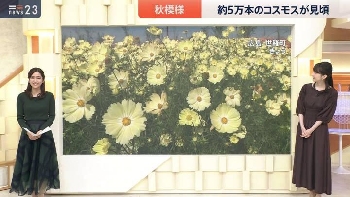 2020年10月14日田村真子の画像13枚目