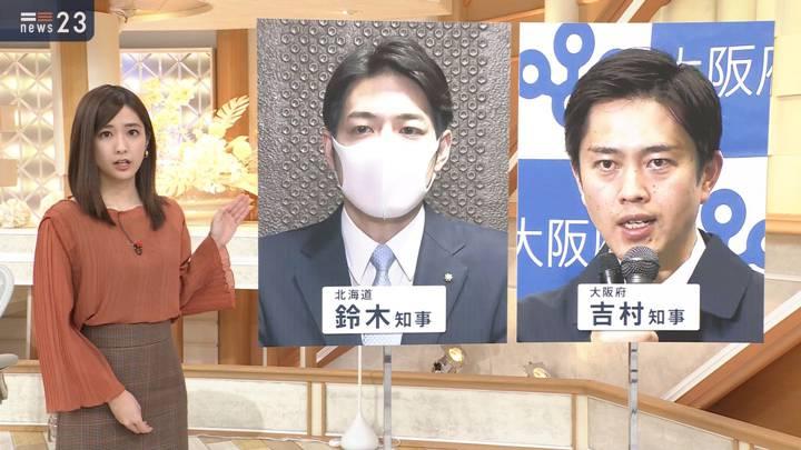 2020年11月23日田村真子の画像03枚目