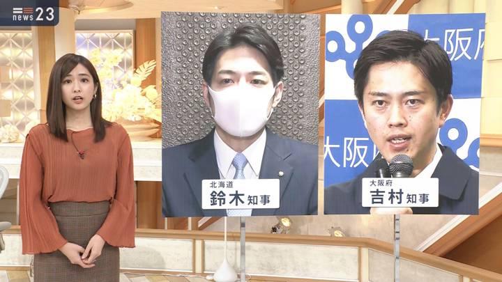 2020年11月23日田村真子の画像04枚目
