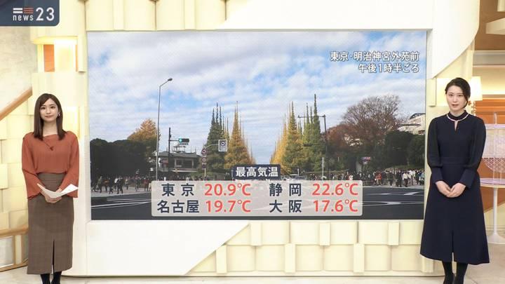2020年11月23日田村真子の画像11枚目