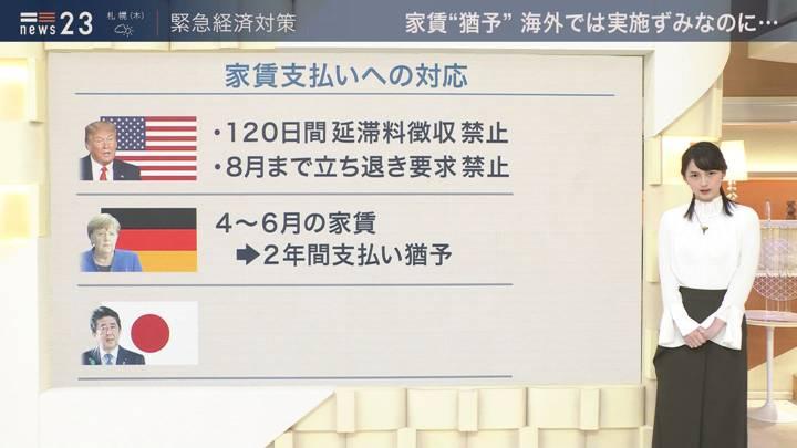 2020年04月22日山本恵里伽の画像04枚目