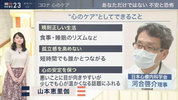 2020年05月12日山本恵里伽の画像01枚目
