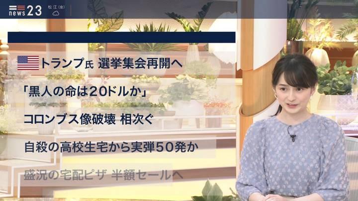 2020年06月11日山本恵里伽の画像02枚目