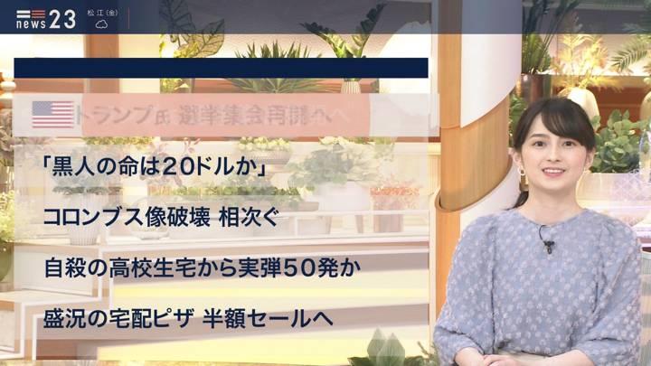 2020年06月11日山本恵里伽の画像03枚目