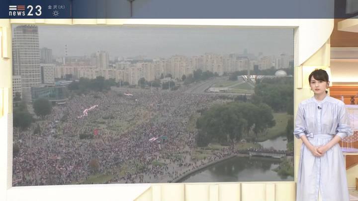 2020年08月24日山本恵里伽の画像03枚目