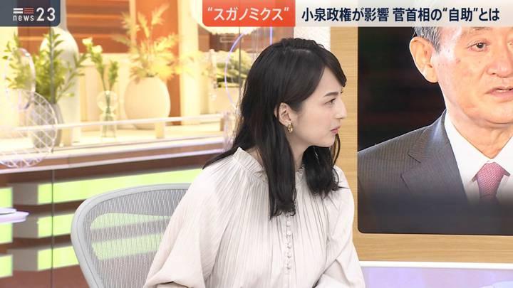 2020年09月17日山本恵里伽の画像05枚目
