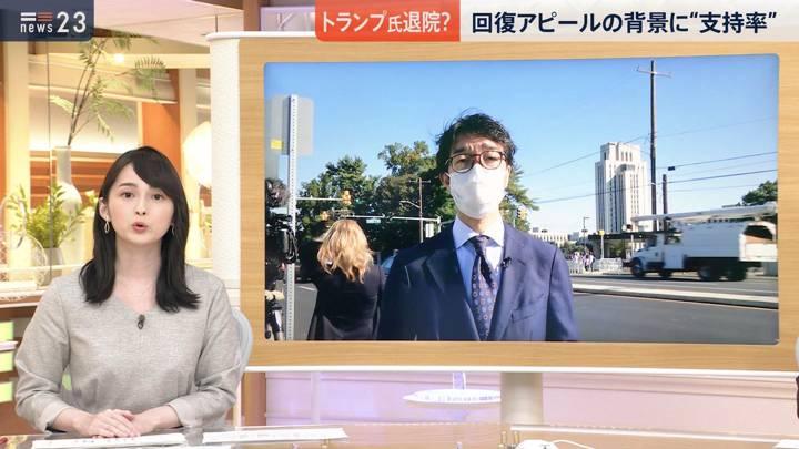 2020年10月05日山本恵里伽の画像03枚目