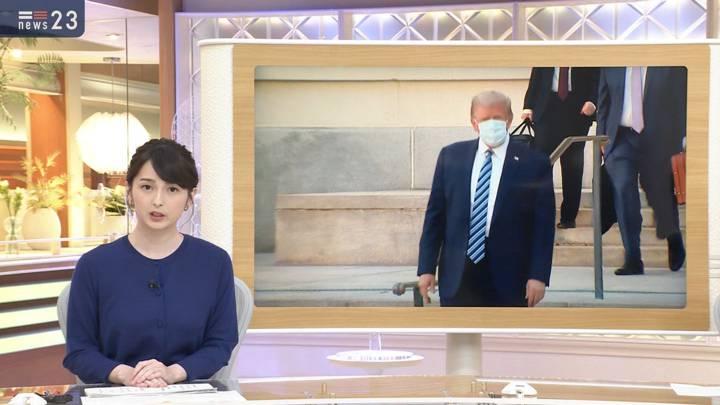 2020年10月06日山本恵里伽の画像02枚目