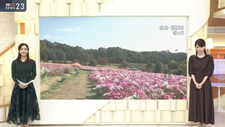 2020年10月14日山本恵里伽の画像12枚目