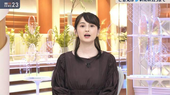 2020年10月14日山本恵里伽の画像13枚目