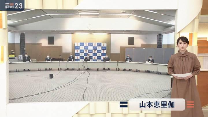 2020年12月21日山本恵里伽の画像01枚目